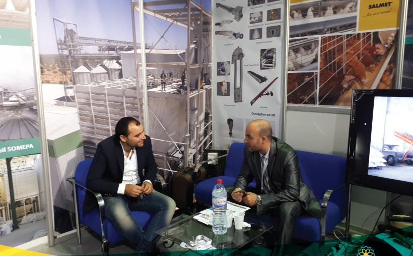 Participation d'ADEM à la foire agricole d'Alger en 2017